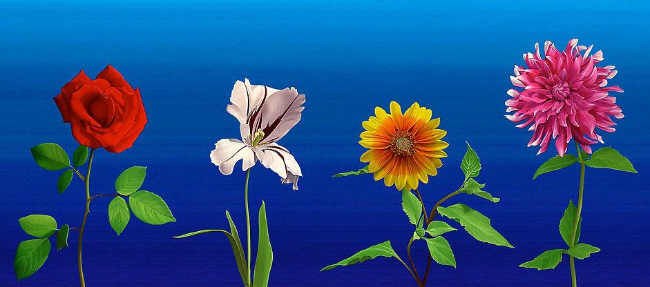 Spring Quartet, by Roberto Azank