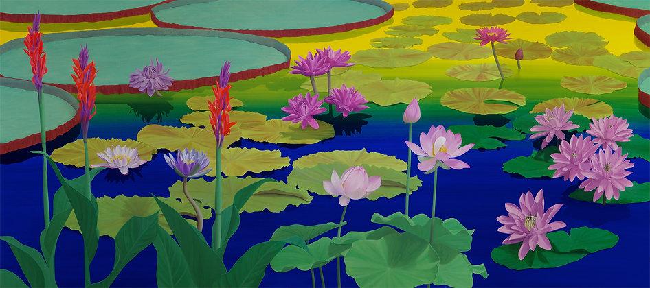 Lotus Flower Painting #1