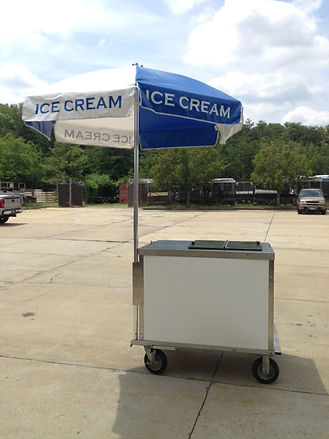 Nelson ice cream cart