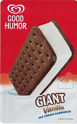 Good Humor Giant Vanilla Sandwich