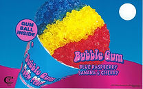 Blue Bunny Bubble Gum Snow Cone