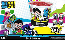 Blue Bunny Teen Titans Go Cup