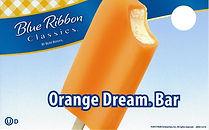 Blue Ribbon Orange Cream Bar