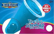 Blue Bunny Blue Raspberry Two Ball Screwball