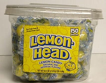 Lemonhead Jar