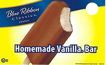 Blue Bunny Homemade Vanilla Bar
