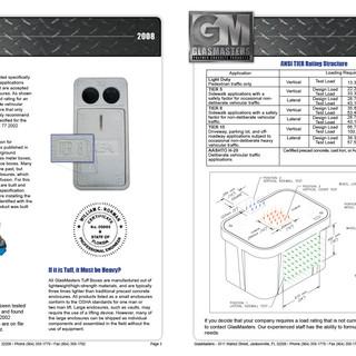Glasmaster Catalog spread