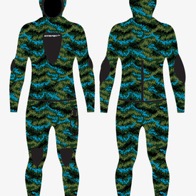 Digital Camo pattern and Wetsuit
