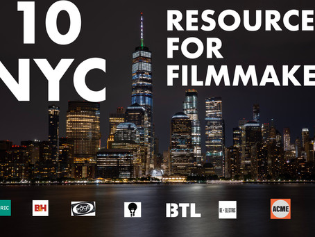 10 Resources Every NY Filmmaker Should Know