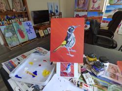 Olivia's Art Studio.