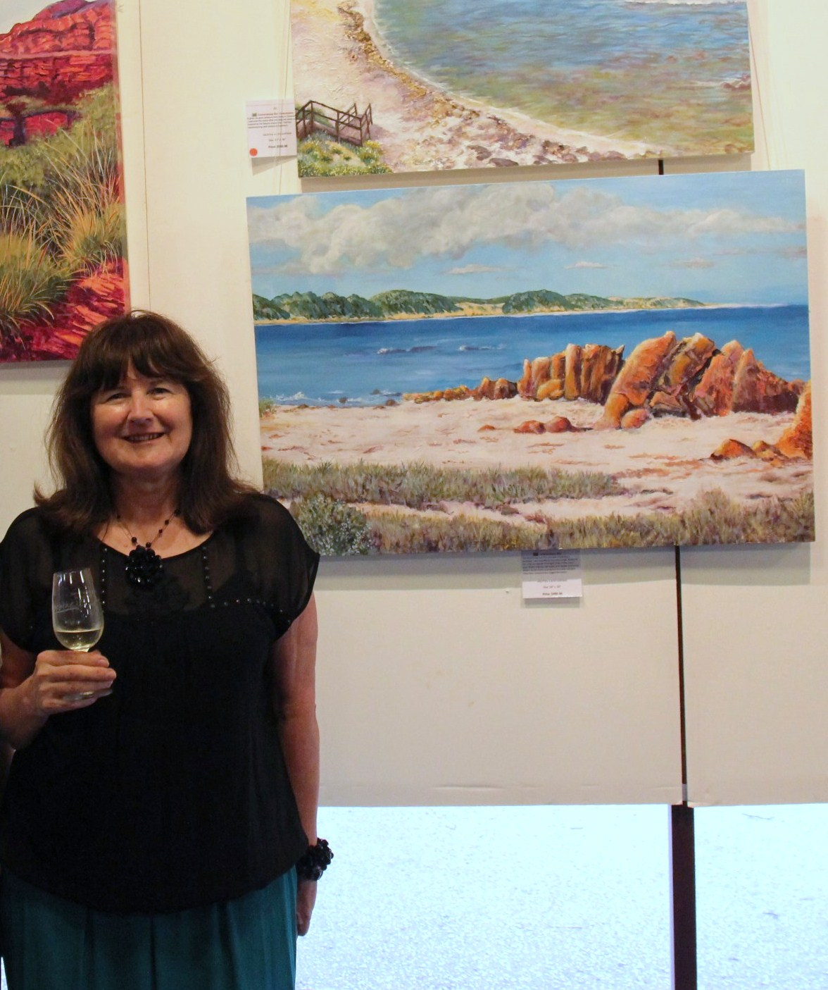 Olivia's Art Exhibition Opening 2014