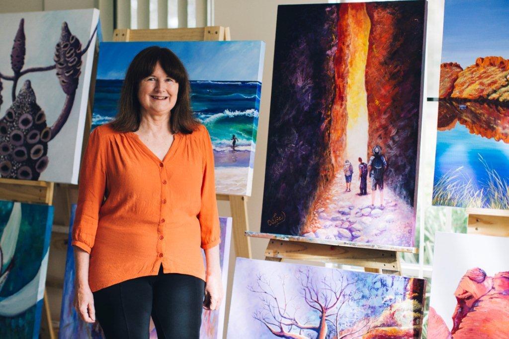 Olivia Lancaster Artist by Elements