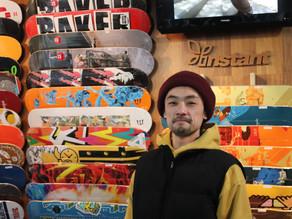 多彩な技で魅了 スケートボード