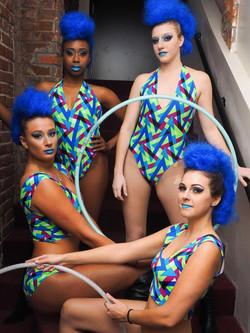 Custom bodysuits for dance team