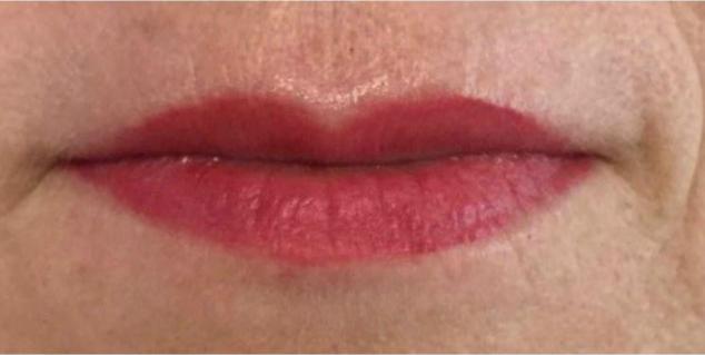 Permanent Makeup Lips Healed