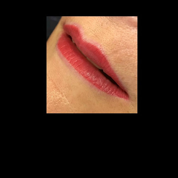 Permanent makeup lip color