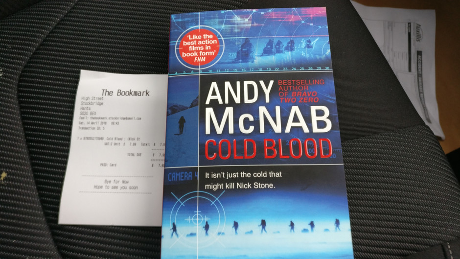 Our First Book Sold is by: Andy McNab