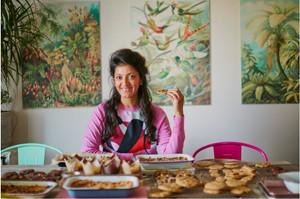 Rukmini Iyer and her Roasting Tin cookbooks