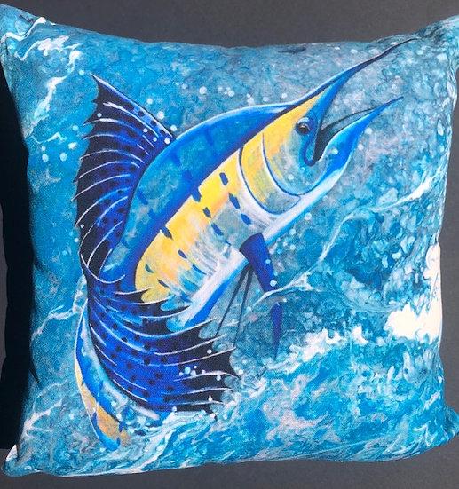 Sailfish Pillow