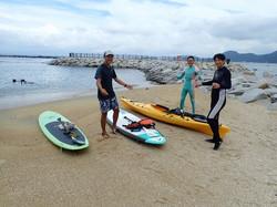 らららサンビーチでSUP (2)