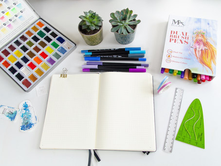 Getting Organised:  A beginner's guide on how to journal