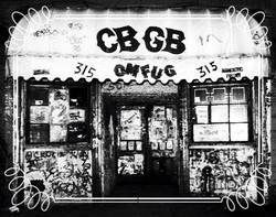 CBGB East Village nyc