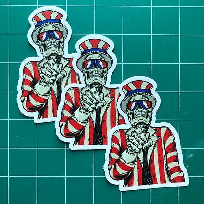 Uncle Sam Sticker Pack
