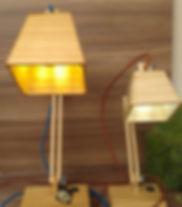 Velas decorativas e luminárias