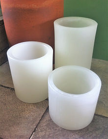 Luminárias cilindricas