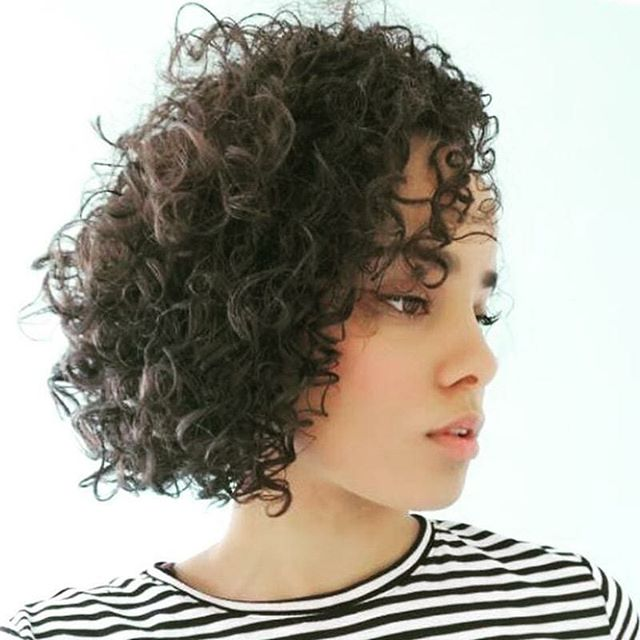 This gorgeous client was cut by our curl
