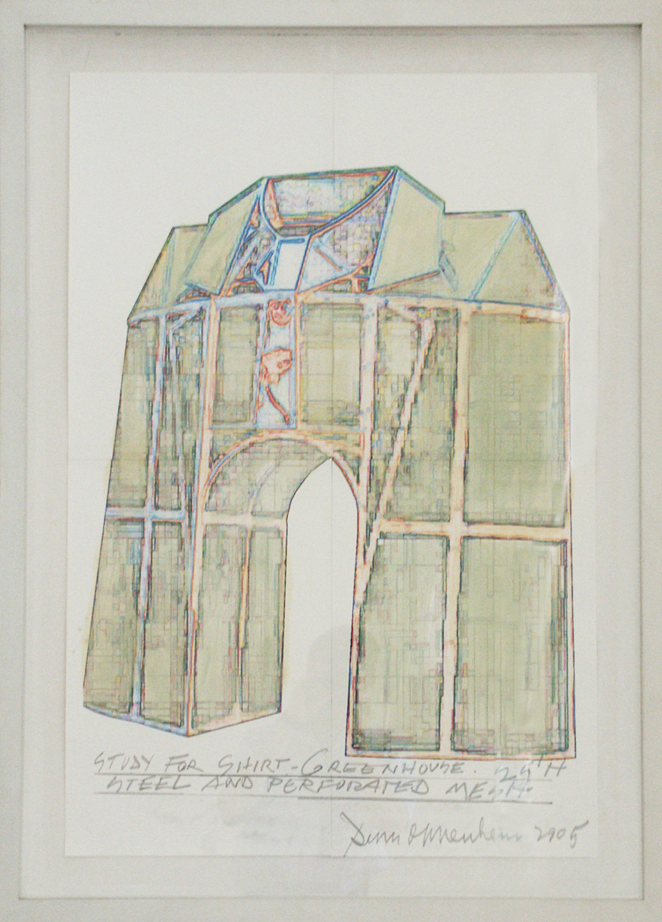 Study for Shirt Greenhouse