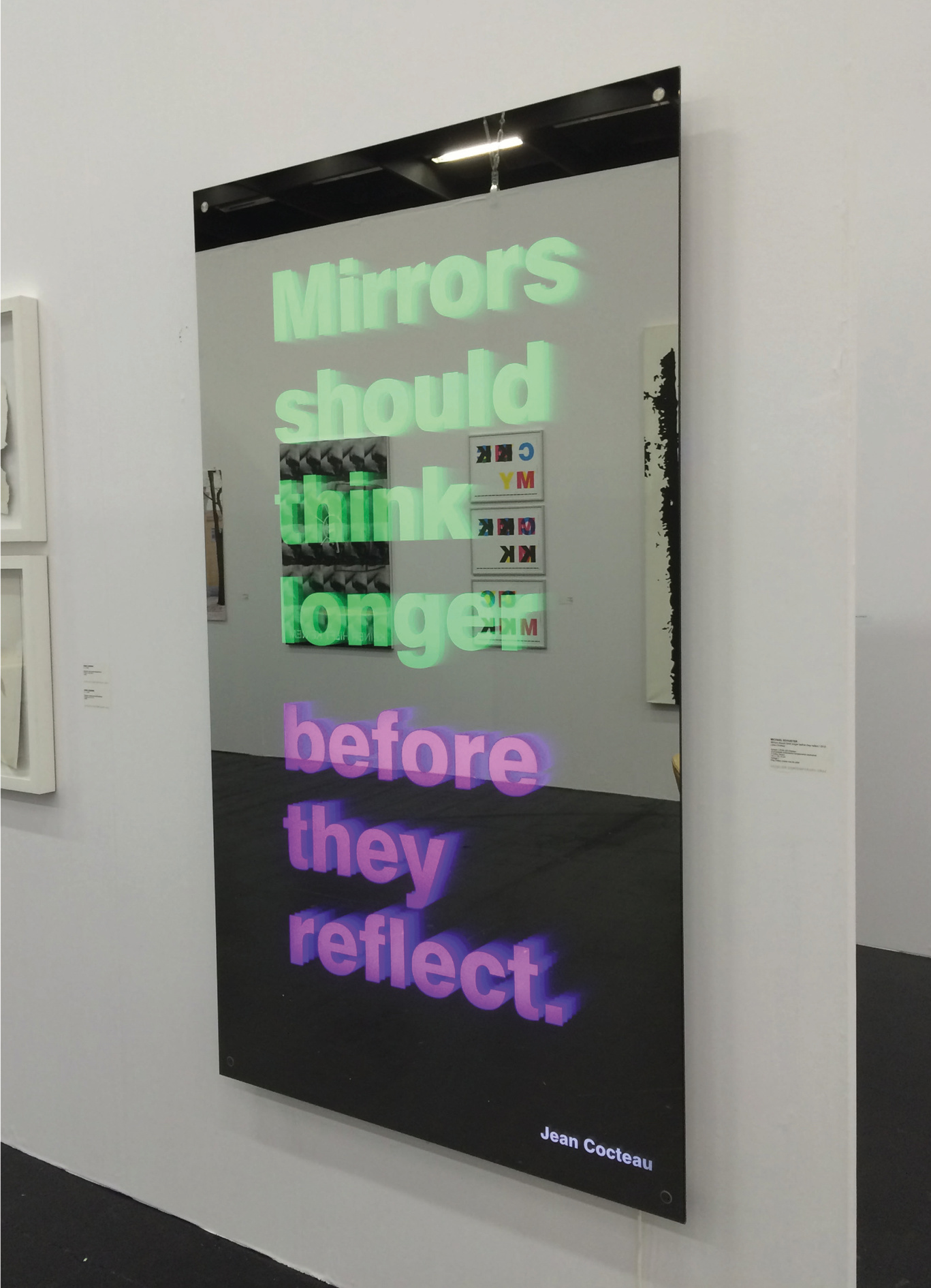 Mirrors Should Think Longer