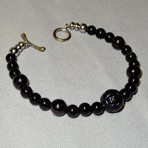 Memento Mori Mourning Bracelet