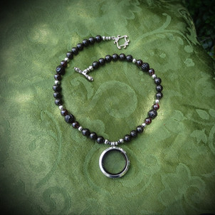 Victorian Style Mourning Jet Mourning Jewelry