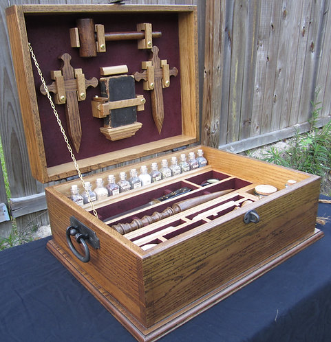 Vampire Hunting Kit Antique Reproduction