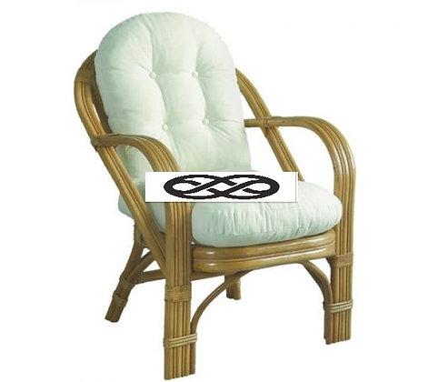 Μαξιλάρι για καρέκλα Μπαμπού με πλάτη .