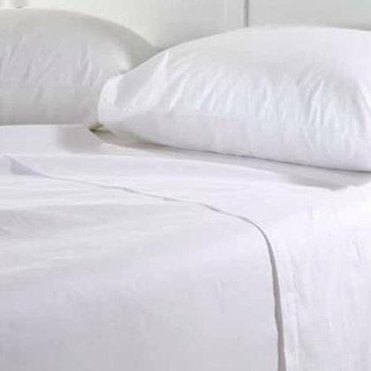 Σεντόνια  Cotton Περκάλι Λευκά