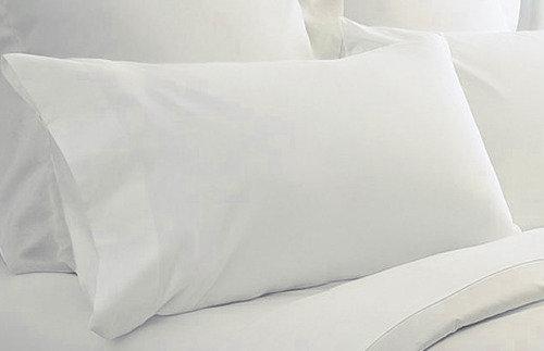 Μαξιλαροθήκη Λουξ Cotton Pennie Λευκή