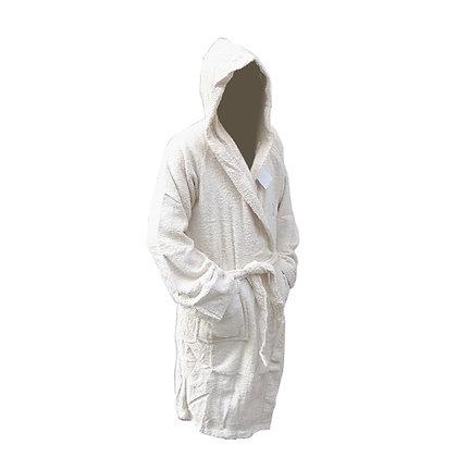 Μπουρνούζι Λευκό Σε Πλαστική Τσαντά