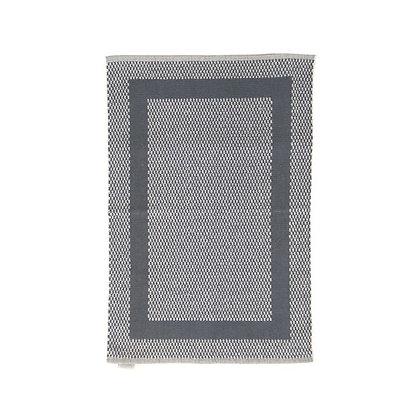 Πετσέτες Δαπέδου Μαιανδρος Γκρι - Λευκό