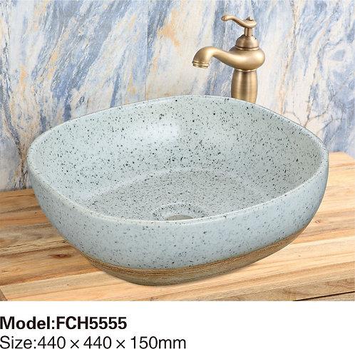 Керамическая накладная раковина Naturflair FCH5555
