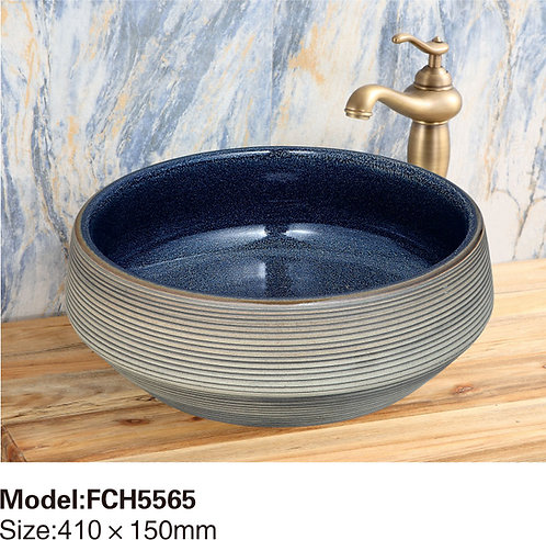 Керамическая накладная раковина Naturflair FCH5565
