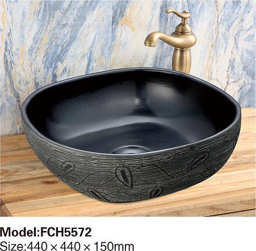 Керамическая накладная раковина Naturflair FCH5572
