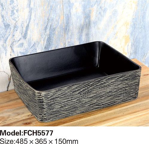 Керамическая накладная раковина Naturflair FCH5577