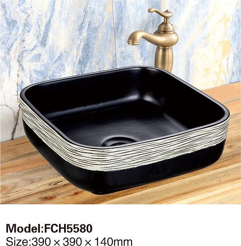 Керамическая накладная раковина Naturflair FCH5580