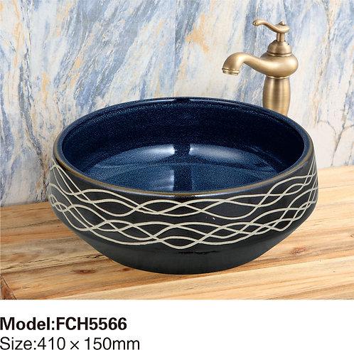 Керамическая накладная раковина Naturflair FCH5566