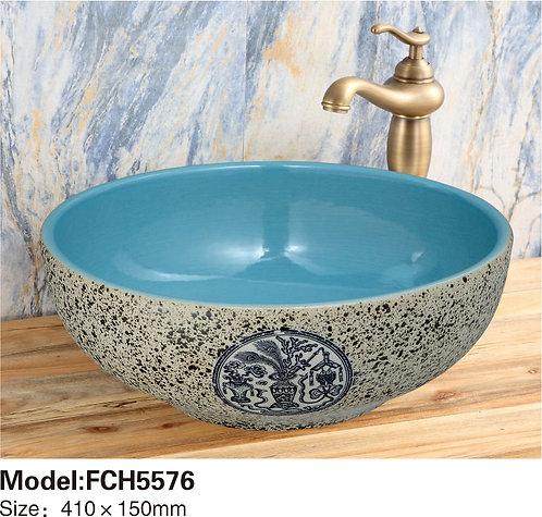 Керамическая накладная раковина Naturflair FCH5576