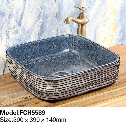 Керамическая накладная раковина Naturflair FCH5589
