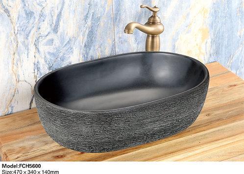 Керамическая накладная раковина Naturflair FCH5600