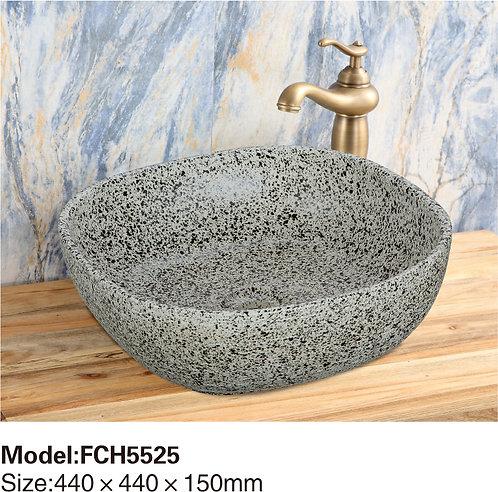 Керамическая накладная раковина Naturflair FCH5528